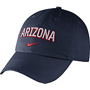 Nike Men's Arizona Wildcats Navy Heritage86 Wordmark Swoosh Flex Hat