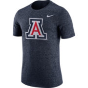 Nike Men's Arizona Wildcats Navy Marled Logo T-Shirt