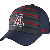 Nike Men's Arizona Wildcats Navy Classic Verbiage Swoosh Flex Hat