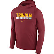 Nike Men's USC Trojans Cardinal Basketball Performance Hoodie