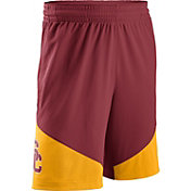 Nike Men's USC Trojans Cardinal/Gold New Classics Basketball Shorts