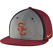 Nike Men's USC Trojans Cardinal/Grey Sideline True Adjustable Performance Hat