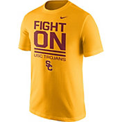 Nike Men's USC Trojans Gold 'Fight On' Local Verbiage T-Shirt