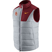 Nike Men's USC Trojans Grey/Cardinal Football Player Vest
