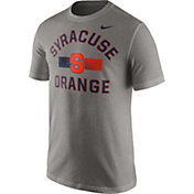 Nike Men's Syracuse Orange Grey Stadium Team First Stripe T-Shirt