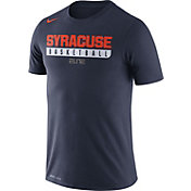 Nike Men's Syracuse Orange Blue ELITE Basketball Practice Legend T-Shirt