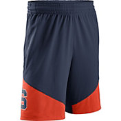 Nike Men's Syracuse Orange Blue/Orange New Classics ELITE Basketball Shorts