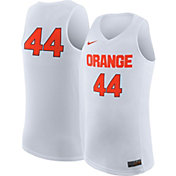 Nike Men's Syracuse Orange White #44 Replica ELITE Basketball Jersey
