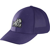 Nike Men's TCU Horned Frogs Purple Legacy91 Flex Mesh Back Hat