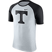 Nike Men's Tennessee Volunteers Oatmeal/Black Gridiron Grey Jersey Hook T-Shirt