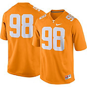 Nike Men's Tennessee Volunteers #98 Tennessee Orange Game Football Jersey