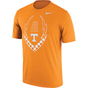 Nike Men's Tennessee Volunteers Tennessee Orange Football Icon Legend T-Shirt