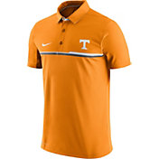 Nike Men's Tennessee Volunteers Tennessee Orange Elite Coaches Performance Polo