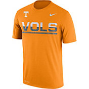 Nike Men's Tennessee Volunteers Tennessee Orange Legend Staff Sideline T-Shirt