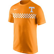Nike Men's Tennessee Volunteers Tennessee Orange Team Stripe Football T-Shirt
