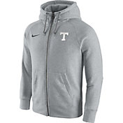 Nike Men's Tennessee Volunteers Gridiron Grey 2.0 AW77 Full-Zip Hoodie