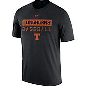 Nike Men's Texas Longhorns Team Issue Legend Baseball Black T-Shirt
