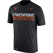 Nike Men's Texas Longhorns Legend Staff Sideline Black T-Shirt