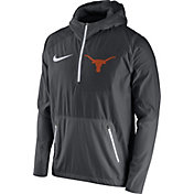 Nike Men's Texas Longhorns Anthracite Speed Fly Rush Football Jacket