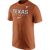 Nike Men's Texas Longhorns Burnt Orange Football Practice T-Shirt
