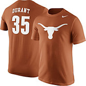 Nike Men's Texas Longhorns Kevin Durant #35 Burnt Orange Future Star Replica Basketball Jersey T-Shirt
