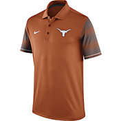 Nike Men's Texas Longhorns Burnt Orange Early Season Coach Polo