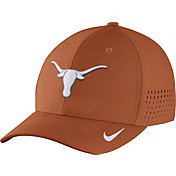 Nike Men's Texas Longhorns Burnt Orange Vapor Sideline Swoosh Flex Hat
