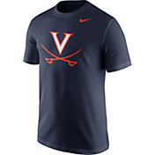Nike Men's Virginia Cavaliers Blue Logo T-Shirt