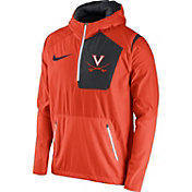 Nike Men's Virginia Cavaliers Orange Speed Fly Rush Football Jacket