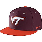 Nike Men's Virginia Tech Hokies Maroon True Adjustable Performance Hat