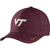 Nike Men's Virginia Tech Hokies Maroon Vapor Sideline Coaches Hat