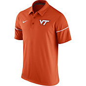 Nike Men's Virginia Tech Hokies Orange Team Issue Performance Polo
