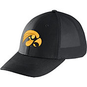 Nike Men's Iowa Hawkeyes Legacy91 Black Flex Mesh Back Hat