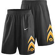 Nike Men's Iowa Hawkeyes Replica Basketball Black Shorts
