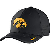 Nike Men's Iowa Hawkeyes Black Vapor Sideline Coaches Hat