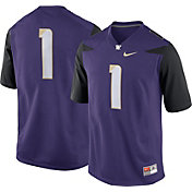 Nike Men's Washington Huskies #16 Purple Game Football Jersey