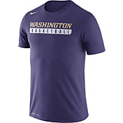 Nike Men's Washington Huskies Purple Basketball Practice Legend T-Shirt