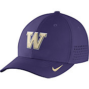 Nike Men's Washington Huskies Purple Vapor Sideline Swoosh Flex Hat