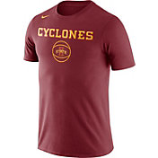 Nike Men's Iowa State Cyclones Cardinal Basketball T-Shirt