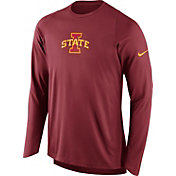 Nike Men's Iowa State Cyclones Cardinal ELITE Shooter Long Sleeve Shirt