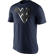 Nike Men's West Virginia Mountaineers Blue Champ Drive Football T-Shirt