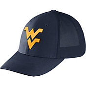 Nike Men's West Virginia Mountaineers Blue Legacy91 Flex Mesh Back Hat