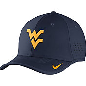 Nike Men's West Virginia Mountaineers Blue Vapor Sideline Coaches Hat