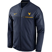 Nike Men's West Virginia Mountaineers Blue Elite Hybrid Jacket