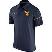 Nike Men's West Virginia Mountaineers Blue Team Issue Performance Polo