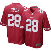 Nike Men's Home Game Jersey San Francisco 49ers Carlos Hyde #28