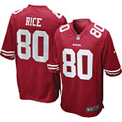 Nike Men's Home Game Throwback Jersey San Francisco 49ers Jerry Rice #80