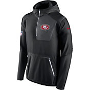 Nike Men's San Francisco 49ers Sideline 2016 Alpha Fly Rush Black Jacket