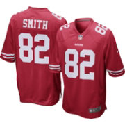 Nike Men's Home Game Jersey San Francisco 49ers Torrey Smith #82
