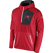 Nike Men's Tampa Bay Buccaneers Sideline 2016 Vapor Speed Fly Rush Red Jacket